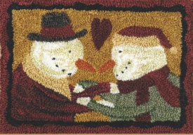 Best Friends - Punch Needle Pattern or Punch Needle Kit