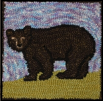 Black Bear - Bee Skep Rug Punching Kit