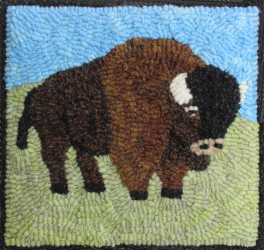 Buffalo Joe - Buffalo Rug Hooking Patterns & Rug Hooking Kits
