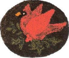 Cardinal - Punch Needle Pattern or Punch Needle Kit