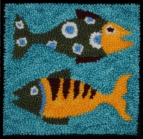 Colorado Trout - Bee Skep Rug Punching Kit