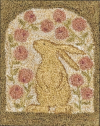 Curious Bunny - Punch Needle Pattern or Punch Needle Kit