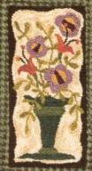 Flourishing Bounty  - Flower Punch Needle Pattern or Punch Needle Kit