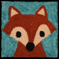 Foxxy Fox - Bee Skep Rug Punching Kit