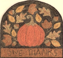 Give Thanks - Punch Needle Pattern or Punch Needle Kit