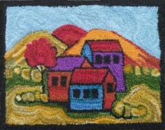 Home Sweet Home - Robert Rodenberger Punch Needle