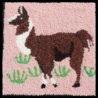Llama - Llama  Rug Punching Kit