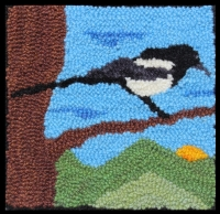 Maggy Magpie - Magpie Rug Punching Kit