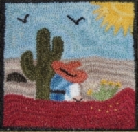Midday Snooze - Punch Needle Pattern or Punch Needle Kit