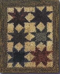 Ohio Star - Punch Needle Pattern or Punch Needle Kit