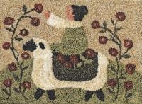 Pickin Flowers - Punch Needle Pattern or Punch Needle Kit