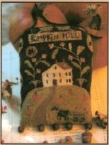 Pumpkin Hill Punch Needle Pattern & Punch Needle Kit