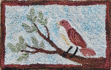 Robins Sweet Song - Punch Needle Pattern or Punch Needle Kit