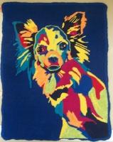 """Rusty Dog"" - Long Haired Chihuahua"