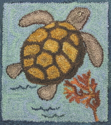 Thomas Sea Turtle - Turtle Punch Needle Pattern or Punch Needle Kit