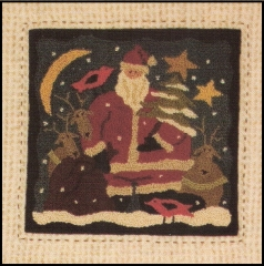 Santa's Helpers - Punch Needle Patterns or Punch  Needle Kits