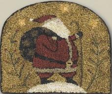 Santas Hike - Punch Needle Pattern or Punch Needle Kit