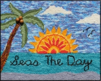 Seas The Day - Seaside  Rug Punching Kit