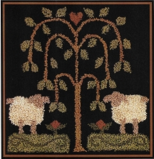 Sheep Gathering - Punch Needle Pattern or Punch Needle Kit