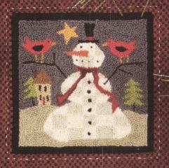 Snow Drifters Punch Needle Patterns and Punch Needle Kits