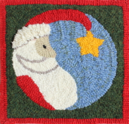 Star Santa - Bee Skep Rug Punching Kit