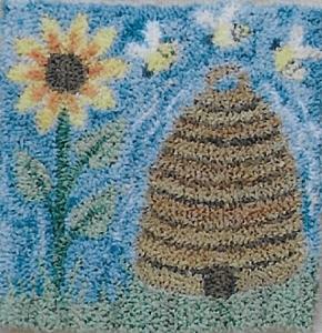 Summer Honey - Punch Needle Pattern or Punch Needle Kit