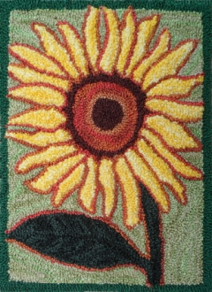 Sunflower Yellow - Robert Rodenberger Punchneedle Pattern or Kit