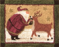 Tis The Season - Christmas Punch Needle Pattern or Punch Needle Kit
