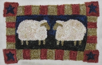 Two Ewe - Punch Needle Pattern or Punch Needle Kit