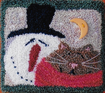 Warm Winter Pals - Punch Needle Pattern or Punch Needle Kit