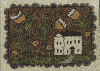Whimsy Cottage - Punch Needle Pattern or Punch Needle Kit