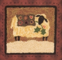 Winter Blanket Punch Needle Pattern or Punch Needle Kit