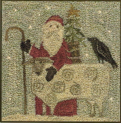 Christmas in the Country - Punchneedle Pattern and Punchneedle Kit